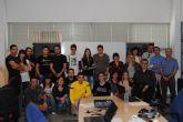 Un total de 24 j�venes participan en el Curso de Diseño Gr�fico organizado por la concejal�a de Juventud
