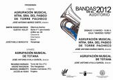La Agrupaci�n Musical de Totana actuar� el pr�ximo s�bado 12 de mayo en el auditorio V�ctor Villegas de Murcia