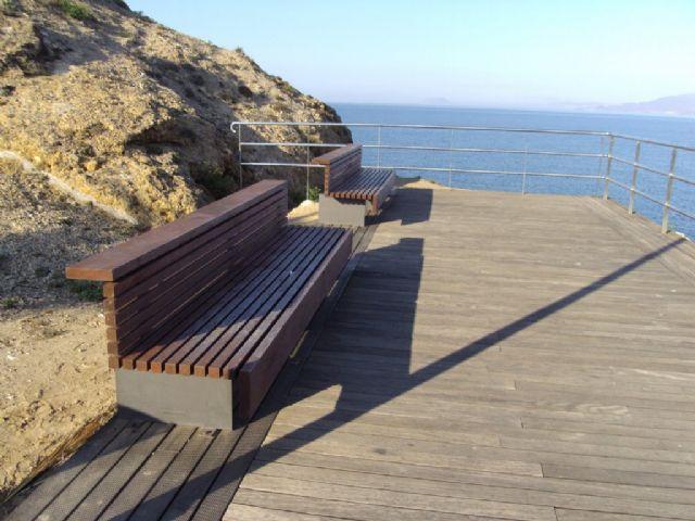 Servicios instala 51 nuevas papeleras en Puerto de Mazarrón - 3, Foto 3