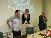 El joven cineasta archenero Mario Marín estrenó en el salón de actos del Museo de Archena su ópera prima 'Muertos y Espíritus'