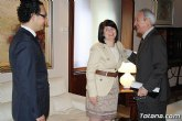 La alcaldesa de Totana reclama apoyo institucional al Vicepresidente del Comit� de las Regiones