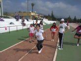 Un total de 64 escolares participaron en la jornada de atletismo de Deporte Escolar
