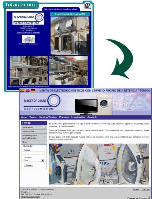 ElectroÁlamo Electrodomésticos estrena una profesional web con catálogo, Foto 2