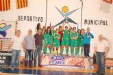 Las jugadoras del IES Villa de Alguazas de Balonmano Infantil Femenino ¡Campeonas!