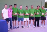Los 'verdes' se llevan el '12 horas de tenis' de Las Torres de Cotillas