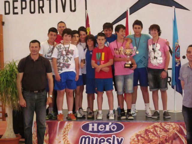 El I.E.S. Domingo Valdivieso se proclama campeón de baloncesto infantil de Deporte Escolar - 2, Foto 2