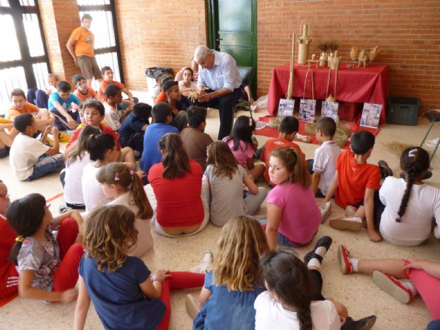 Los niñ@s de Cañada de Gallego aprenden las peculiaridades del esparto - 1, Foto 1