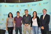 El Polideportivo acoge la grabación del  multitudinario Lipdub 'Integra San Javier'