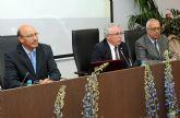 El ex presidente de la Conferencia de Rectores impartió conferencia en la Universidad de Murcia