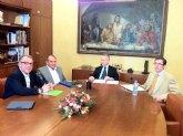 Reunión de representantes del Ayto. Moratalla y la Confenderación Hidrográfica del Segura
