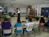 Más de 400 alumnos de 5° y 6 ° de Primaria participan en el programa de Educación Vial de la Policía Local