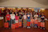 Entrega de premios a los ganadores en Alguazas del concurso de dibujo Crece en Seguridad