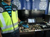 La Policía Nacional detiene a siete miembros de una organización especializada en cometer robos en viviendas