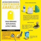 Ropa, juguetes y menaje, los principales intrusos en los contenedores amarillos