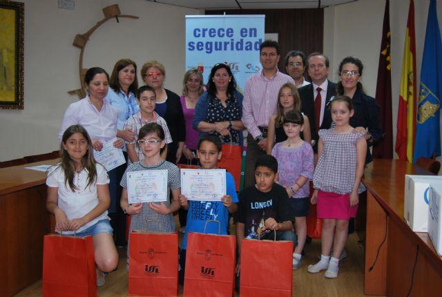 Diez niños de la localidad, premiados dentro de la campaña