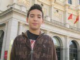 La concejalía de Educación desea suerte y anima a Juan Pedro Gómez Díaz, del IES 'Juan de la Cierva'