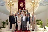 Una representación del Instituto de Estudios de la Defensa Nacional de Francia visita Cartagena