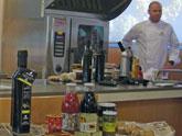 Demostración de cocina con aceites mono-varietales e investigación con productos 'COATO'