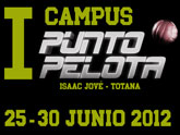 Totana acogerá el I Campus Punto Pelota del 25 al 30 de junio