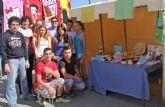 Alumnos del IES Rambla de Nogalte crean una empresa con la que participan en el Mercado Semanal del municipio a través del Proyecto EJE
