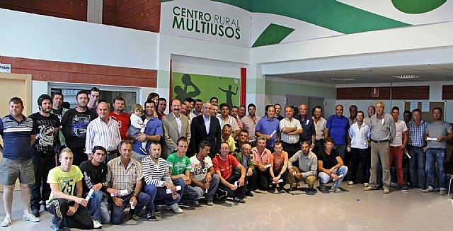 Más de 150 agricultores y ganaderos de Puerto Lumbreras completan con éxito una decena de programas formativos relacionados con el sector - 1, Foto 1