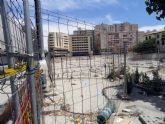 El Grupo Socialista exige la limpieza y vallado del yacimiento de San Esteban convertido en una escombrera