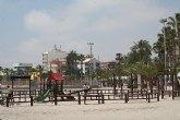 UPyD solicita al equipo de gobierno que arregle los parques infantiles de las playas de San Pedro del Pinatar