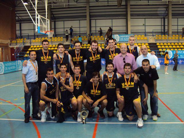La UCAM campeona de España universitaria - 1, Foto 1