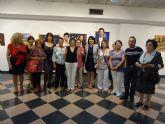 La asociación cultural de pintores 'Con-traste' celebra su décimo aniversario