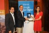 El Premio Google Ciudad Digital reconoce el esfuerzo de Murcia en la implantación de nuevas tecnologías