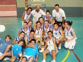Mazarrón vibra con las 'Final Four' de baloncesto infantil