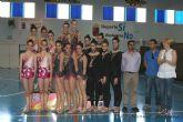 El club 'Cronos JM Puente Tocinos' brilla en el 'VII Villa de Las Torres' de gimnasia rítmica