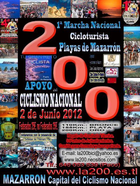El 2 de junio Mazarrón será el epicentro del apoyo al ciclismo nacional, Foto 2