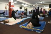 Termina el curso de gimnasia energética para mayores