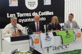 Pedro León, Valera, Botía y Abel Resino, en Las Torres de Cotillas contra el cáncer