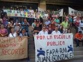 La FAPA Juan Gonz�lez exige a la Consejer�a que no suprima las l�neas de transporte escolar el pr�ximo curso