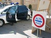 La Policía Local de Totana se adhiere a la campaña de control de motocicletas y ciclomotores que promueve la DGT