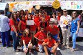 El colegio 'Reina Sofía' gana el premio a la creatividad empresarial en el III Mini Market de Empresas Escolares de la Región de Murcia