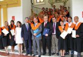 La I Promoción del UCAM International Business Certificate recibe sus Becas y Diplomas Acreditativos