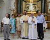 La Iglesia Nuestra Señora del Rosario de Puerto Lumbreras recibe el Cáliz de D. Juan Carrillo Ortuño