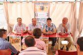 Puerto Lumbreras celebra una Novillada en la que participan promesas locales del toreo coincidiendo con la festividad del Día de la Región de Murcia