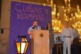 La Unión Musical de Torre-Pacheco recibe una de las cuñas de la cofradía de Nuestro Padre Jesús Nazareno (Marrajos) de Cartagena