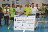 El tradicional partido contra el cáncer de Las Torres de Cotillas recauda 4.000 euros