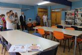 El colegio 'Cervantes' torreño inaugura su renovada biblioteca