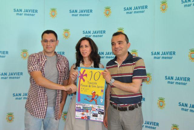 La X Travesía a Nado Playas de San Javier acogerá a más de 500 nadadores en Santiago de la Ribera el próximo domingo - 1, Foto 1