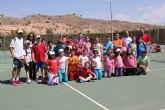 II jornadas escolares de tenis en el Club de Tenis Totana