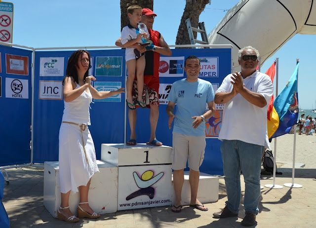 La Travesía a nado Playas de San Javier superó los 500 nadadores, en Santiago de la Ribera - 2, Foto 2