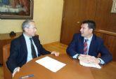 El alcalde se re�ne con el presidente de la Confederaci�n Hidrogr�fica del Segura