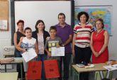 Entrega de premios de la campaña 'Crece en Seguridad' en la que han participado 200 alumnos de los colegios de Puerto Lumbreras