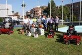 El Ayuntamiento adquiere nueva maquinaria para el cuidado de sus jardines